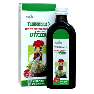 TANNENBLUT N HERBAL SYROP 250 ML