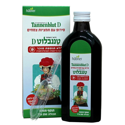 TANNENBLUT D HERBAL SYROP 250 ML