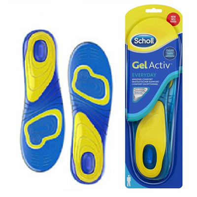 ‎SCHOLL‎ ‎GELACT‎ ‎MEN‎ ‎INSOLES