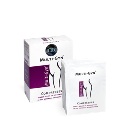 MULTI-GYN COMPRESSES 12 PADS